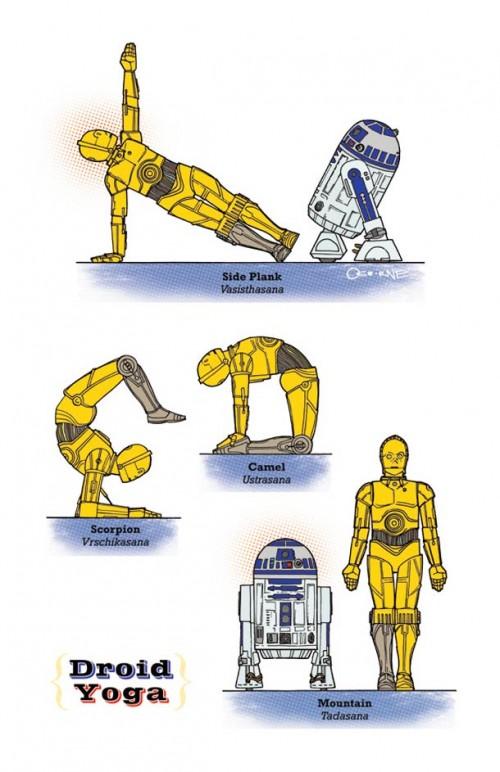 Droid Yoga